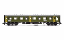 BR Departmental, ex-Mk1 SK Ballast Cleaner Train Staff Coach, DB 975804 - Era 7