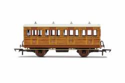 GNR, 4 Wheel Coach, 1st Class, 1534 - Era 2