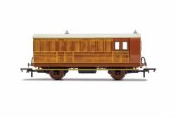 GNR, 4 Wheel Coach, Brake Baggage, 836 - Era 2