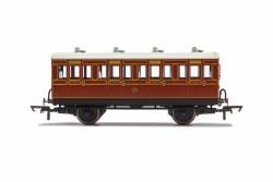 LB&SCR, 4 Wheel Coach, 1st Class, 474 - Era 2
