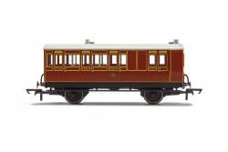 LB&SCR, 4 Wheel Coach, Brake 3rd Class, 941 - Era 2