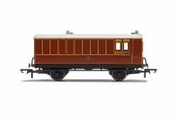 LB&SCR, 4 Wheel Coach, Brake Baggage, 102 - Era 2