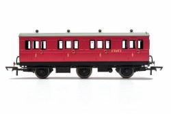 BR, 6 Wheel Coach, 1st Class, E41373 - Era 4