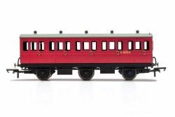 BR, 6 Wheel Coach, 3rd Class, E31070 - Era 4