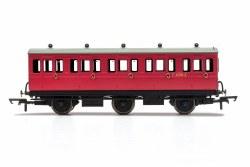 BR, 6 Wheel Coach, 3rd Class, E31085 - Era 4