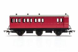 BR, 6 Wheel Coach, Brake 3rd Class, E31185 - Era 4