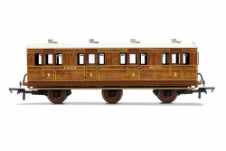 LNER, 6 Wheel Coach, 1st Class, 4172 - Era 3