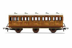 LNER, 6 Wheel Coach, 3rd Class, 4142 - Era 3