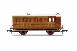 LNER, 4 Wheel Coach, Brake Baggage, 4103 - Era 3