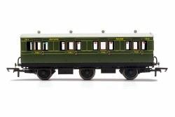 SR, 6 Wheel Coach, 1st Class, 7514 - Era 3