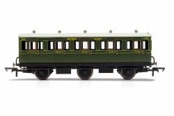 SR, 6 Wheel Coach, 3rd Class, 1908 - Era 3
