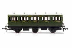 SR, 6 Wheel Coach, 3rd Class, 1909 - Era 3