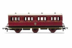 NBR, 6 Wheel Coach, 1st Class, 414 - Era 2