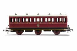 NBR, 6 Wheel Coach, 3rd Class, 1169 - Era 2