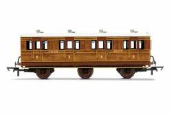 LNER, 6 Wheel Coach, 1st Class, Fitted Lights, 4172 - Era 3