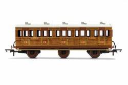LNER, 6 Wheel Coach, 3rd Class, Fitted Lights, 4141 - Era 3