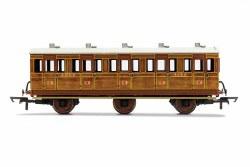 LNER, 6 Wheel Coach, 3rd Class, Fitted Lights, 4142 - Era 3
