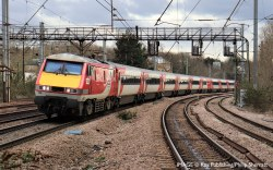 LNER (2018+) Mk4 'Mallard' FOD First Open Disabled, Coach L, LNER (2018+) Red & Silver Livery