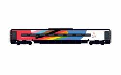 Avanti West Coast, Pendolino Pantograph Standard Buffet (PTSRMB), Pride Livery - Era 11