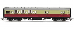 Maunsell Four Compartment Brake Third Corridor S3731S BR Crimson & Cream