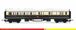 Collett Brake Third GWR Chocolate & Cream (Shirtbutton)