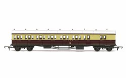 GWR, E140 'B' Set Brake Composite, 6372 - Era 3