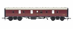 Mk1 Parcels Coach BR Maroon