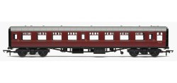 Mk1 TSO Tourist Second Open BR Maroon