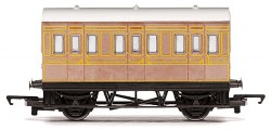 Four Wheeled Coach LNER Teak