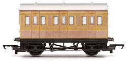 Four Wheeled Coach LNER Teak