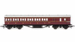 Stanier 57' Period III Brake Third 20754 LMS Crimson Lake