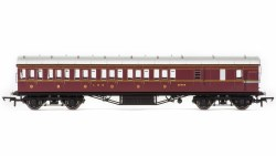 Stanier 57' Period III Brake Third 20755 LMS Crimson Lake