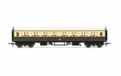 Collett 'Bow Ended' Third Corridor 4556 GWR Chocolate & Cream (Crest)