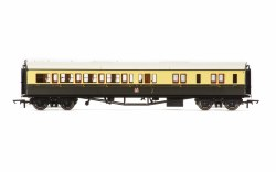 Collett 'Bow Ended' Brake Third Corridor Right Hand 4941 GWR Chocolate & Cream (Crest)