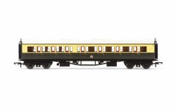 Collett 'Bow Ended' Composite Corridor Right Hand 6527 GWR Chocolate & Cream (Crest)