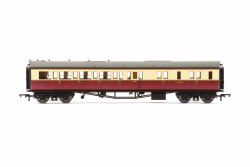 Collett 'Bow Ended' Brake Third Corridor Right Hand W4925W BR Crimson & Cream