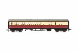 Collett 'Bow Ended' Brake Third Corridor Left Hand W4926W BR Crimson & Cream