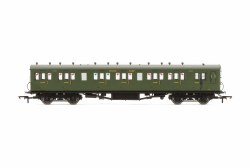Maunsell 58' Rebuilt (Ex-LSWR 48') Six Compartment Brake Third 2625 SR Maunsell Olive Green