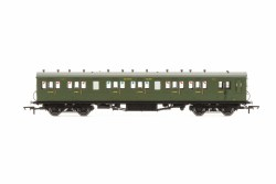 Maunsell 58' Rebuilt (Ex-LSWR 48') Six Compartment Brake Composite 6401 SR Maunsell Olive Green