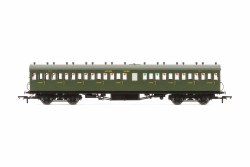 Maunsell 58' Rebuilt (Ex-LSWR 48') Nine Compartment Third 364 SR Maunsell Olive Green