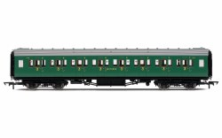 Maunsell Third Class Corridor (High Windows) 1216 SR Malachite Green