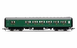 Maunsell Brake Third Class Corridor (High Windows) 3797 SR Malachite Green