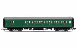 Maunsell Brake Third Class Corridor (High Windows) 3798 SR Malachite Green