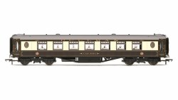 Pullman Standard K Type Second Parlour 'Car No. 34' Pullman Umber & Cream (Grey Roof)