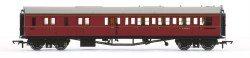 Collett 'Bow Ended' Brake Third Corridor Left Hand W4936W BR Maroon