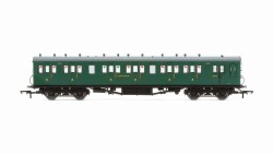 Maunsell 58' Rebuilt (Ex-LSWR 48') Six Compartment Brake Third 2628 SR Malachite Green