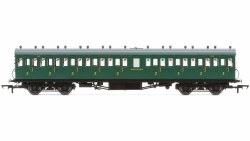 Maunsell 58' Rebuilt (Ex-LSWR 48') Nine Compartment Third 320 SR Malachite Green