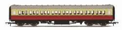 Maunsell Third Class Corridor (High Windows) S1187S BR Crimson & Cream