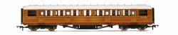 """Gresley 61' 6"""" Third Corridor 23864 LNER Teak"""