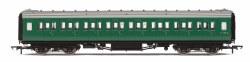Maunsell Second Class Corridor (High Windows) S1113S BR Green